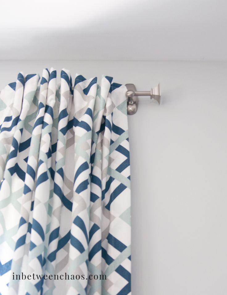 Best 25+ Command hook curtain rod ideas on Pinterest | Curtain rod ...