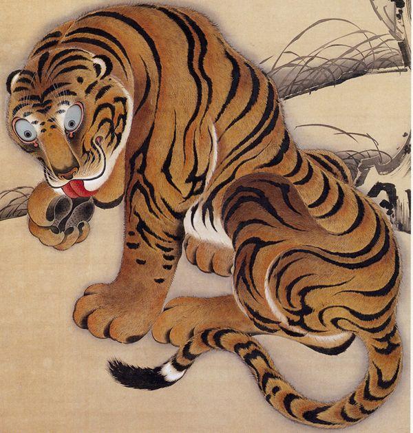 Ito Jackucku, Tiger, 1755: Tiger Designs, Art, It Jakuchu, Tigers, Tiger Detail
