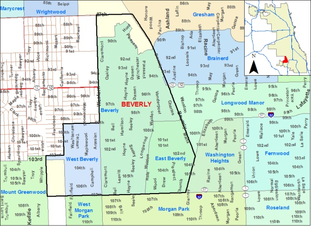 CHICAGO ~Beverly: area of the Beverly neighborhood | Beverly Hills