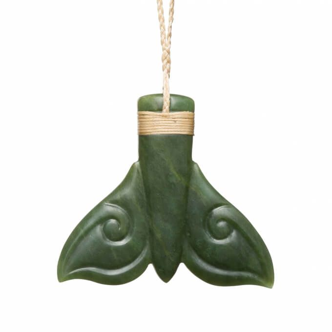 Organic whaletail necklace crafted by the hands of Sheree Warren for Mountain Jade.