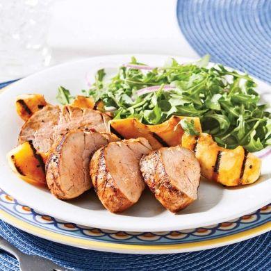Filet de porc aux pommes grillées - Recettes - Cuisine et nutrition - Pratico Pratique
