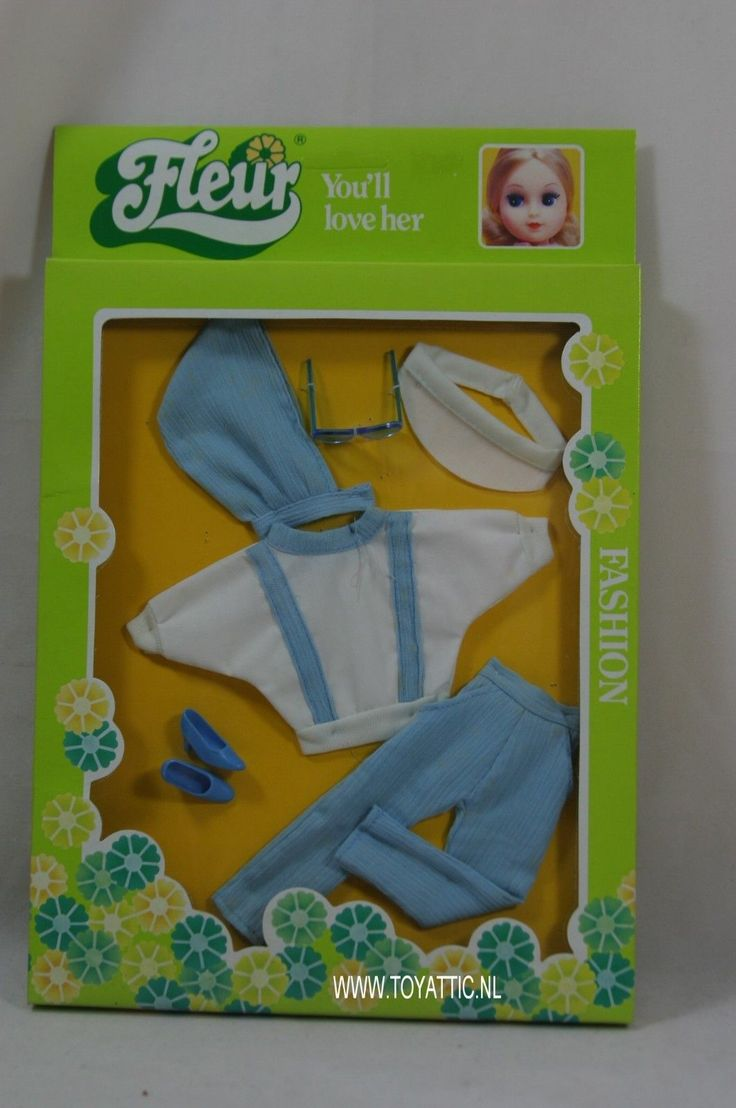 Fleur ( dutch Sindy ) fashion set sportive no. 385-1282 New - NRFB | eBay