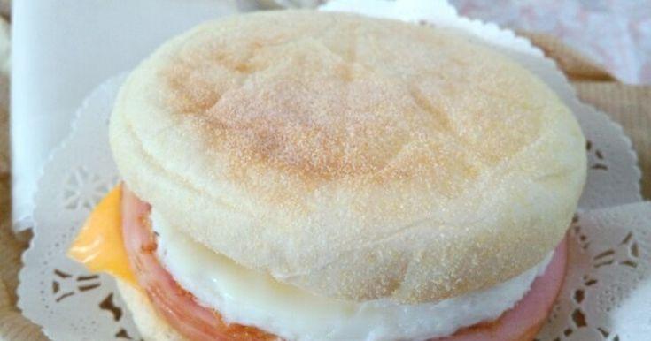 お家に居ながら朝マック♪ ハムと卵で簡単です