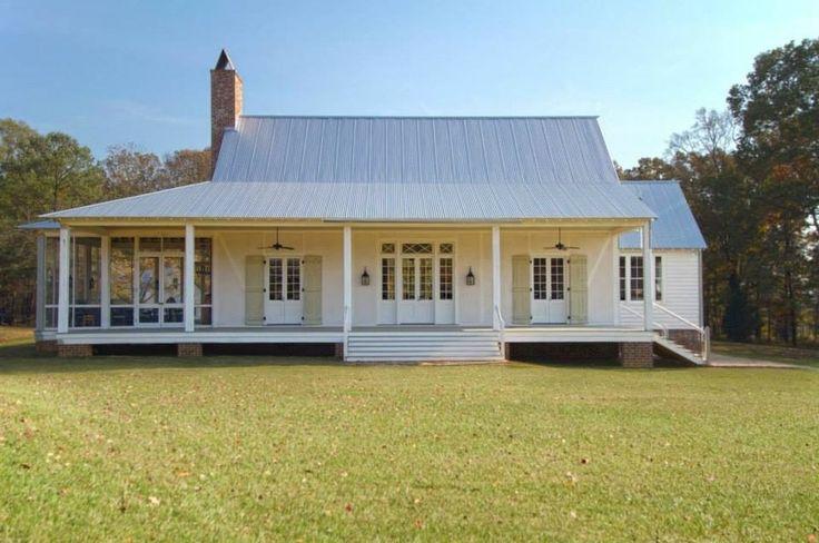 simple roof country house plans | Bill Ingram Architect, Matthews Alabama. www ...