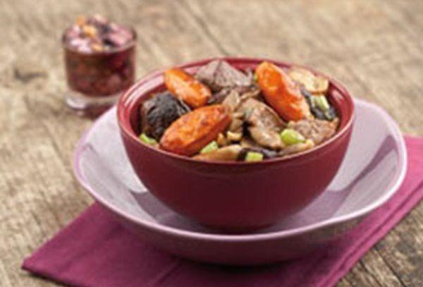 Stoofpotje met ree, zoete aardappel en shiitake recept   Solo Open Kitchen