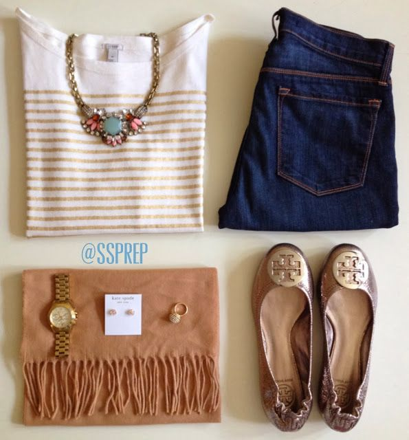 love the neutrals, could wear this to work (but not jeans) or on the weekend