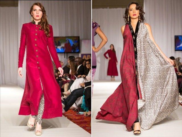 Gul Ahmed hits the ramp at Pakistan Fashion Week London – The Express Tribune