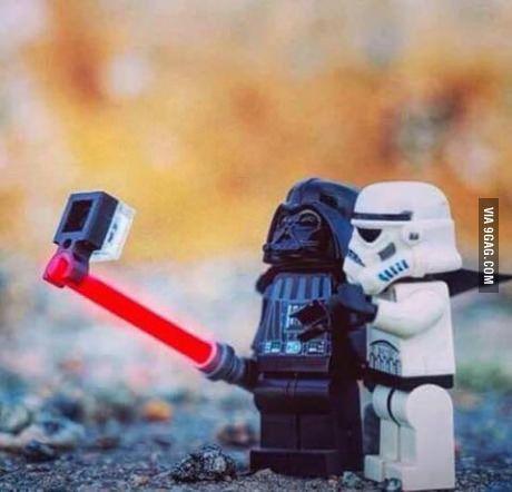 Vader's Selfie Stick