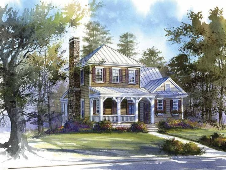 Eplans farmhouse house plan topwater lodge from the for Www eplans com house plans