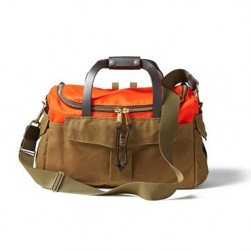 Filson Heritage Sportsman Bag - Tan/ Orange