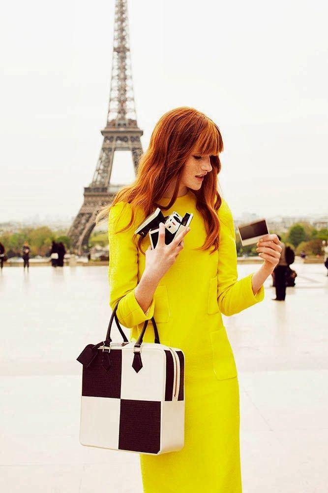 Paris. girl. yellow. color. colour. желтый. желтый цвет. девушка. Париж