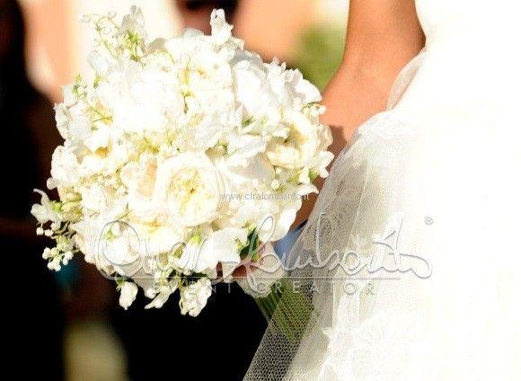 Bouquet delicato ed elegante per una sposa romantica e raffinata | Cira Lombardo Wedding Planner