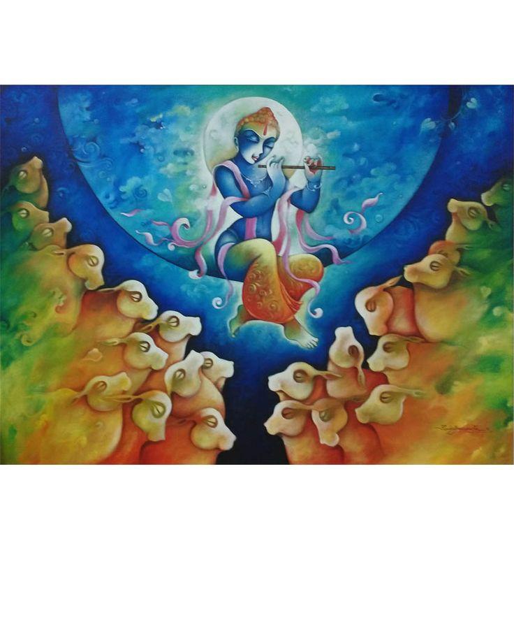 Buy Paintings Online: Original Paintings Art by Top Indian Artist