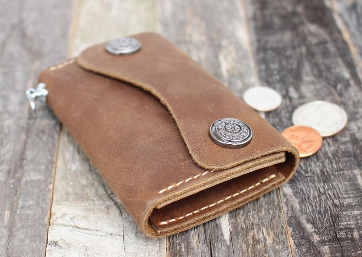 Handmade Premium Leather Key Chain Holder — FREE SHIPPING — Limited Quantities