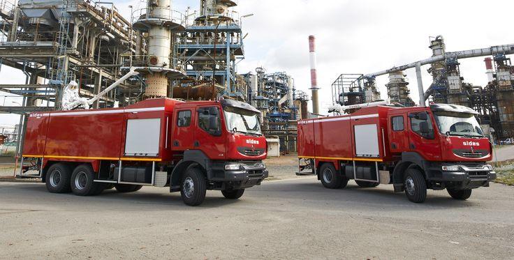 Véhicules de sécurité incendie pour la sécurité civilé, l'aéroportuaire et l'industrie