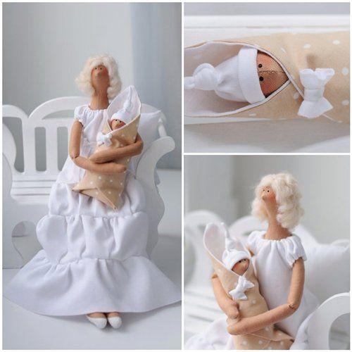 Tilda full of love for the little baby