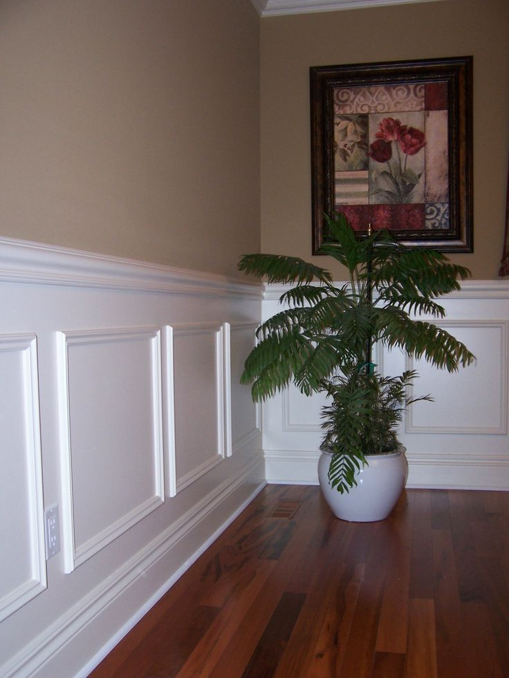 Wainscoting Ideas For Living Room | Trim Work, Crown Molding, Wainscoting