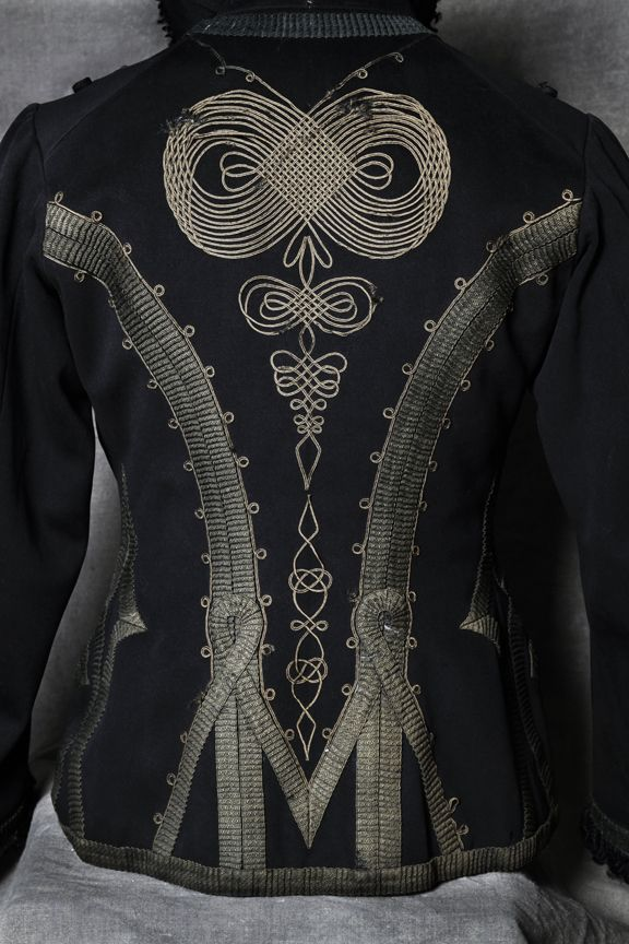 French Hussars jacket - love the knotwork down the spine