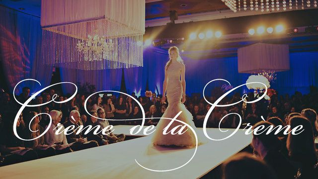 Crème De La Crème by @Happy Countdown Events will wow and inspire new brides with aspirational wedding designs and bridal experiences which will include Vancouver's only haute couture wedding gown runway show.