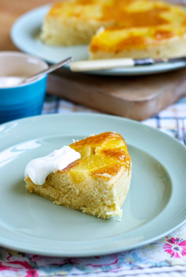 Well Worn Whisk: a blog about family, food & country living : Steamed pineapple upside down cake