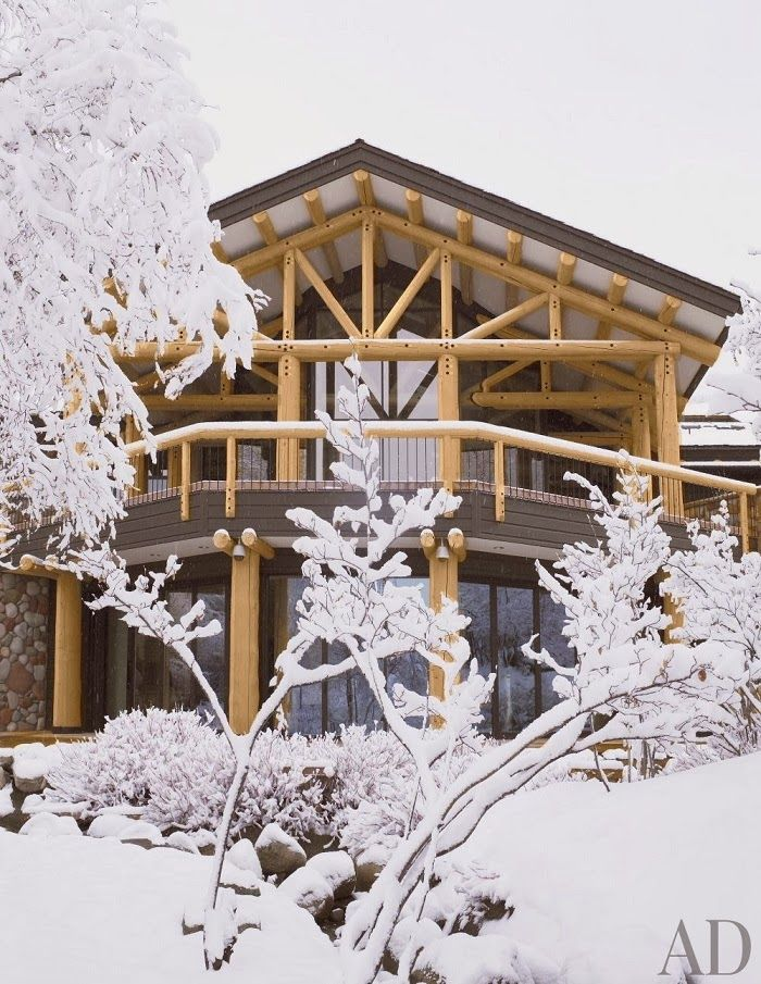 Love this look 165 best Ski Houses