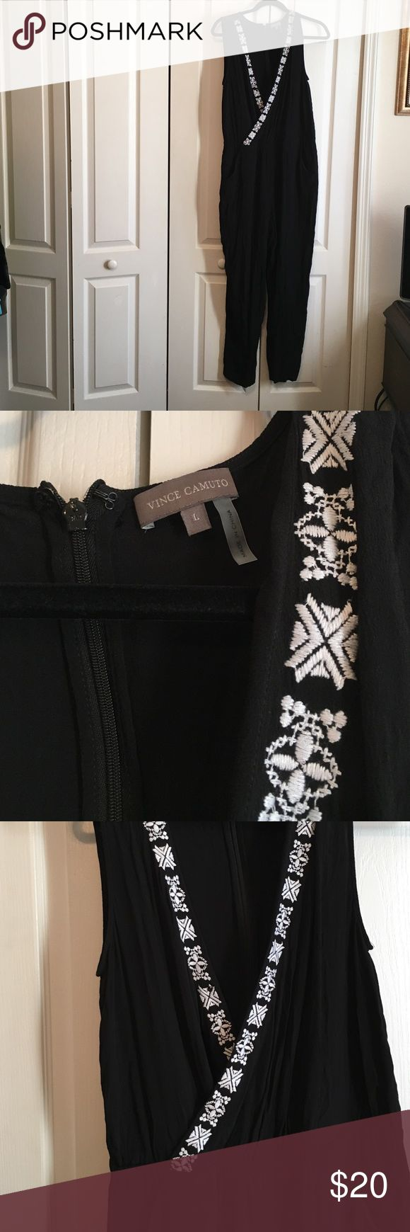 Vince Camuto Ladies Size Large Jumpsuit Gently Used Ladies Jumpsuit Size Large Vince Camuto Pants Jumpsuits & Rompers