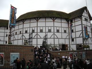 "Shakespeare's Globe Theater - London, England - Wherever It Takes: Literary Traveler piece - ""I am not an original groundling"""