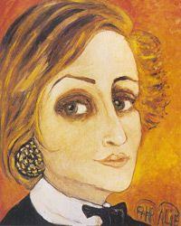 Fahrelnissa Zeid (1901-1991) Self Portrait