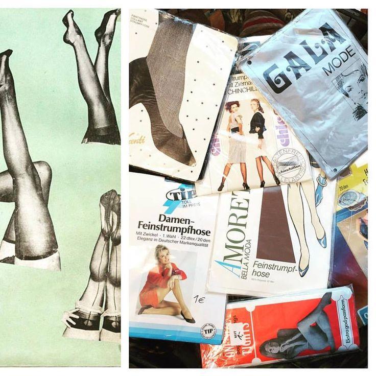 Get your kicks ✖️✖️ #humana_second_hand_germany #vintage #pferde #humanavintagegermany #pantyhose