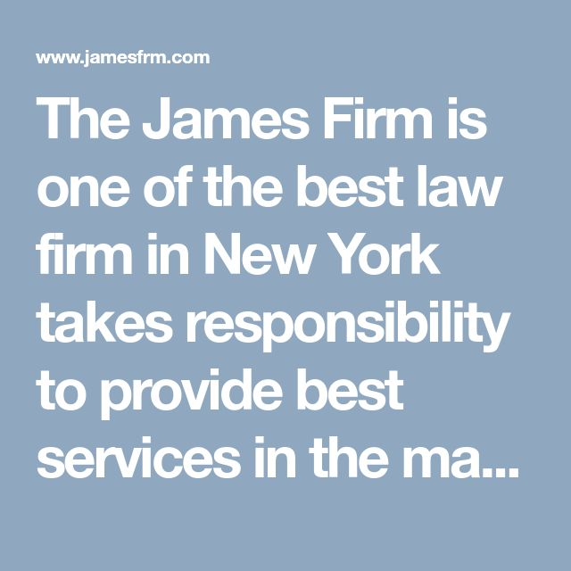 The James Firm is one of the best law firm in New York takes responsibility to provide best services in the matter of Liquor license.