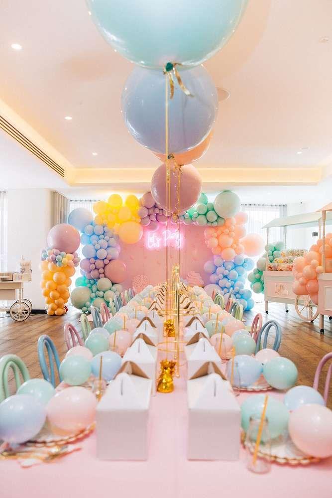 ice cream birthday party ideas in 2019 table settings ice cream rh pinterest com