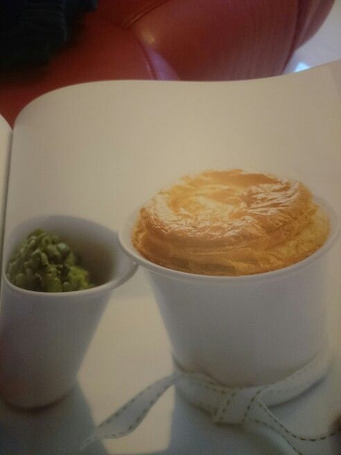 Chicken and leek pot pies from instant entertaining by Donna Hay