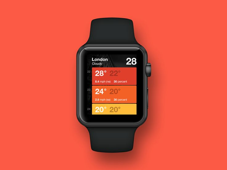 WD Apple Watch by CYRA — The Best iPhone Mockups → store.ramotion.com