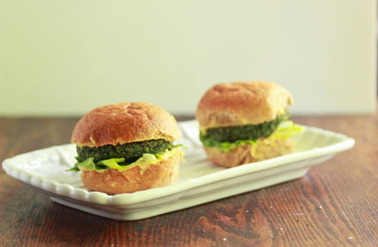 Spinach and Chick Pea Burgers | Health | Pinterest