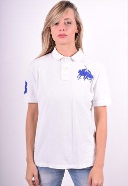 Polo Ralph Lauren Womens Vintage Polo Shirt Size 14 90's