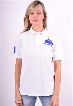 Polo Ralph Lauren Womens Vintage Polo Shirt Size 14 90's