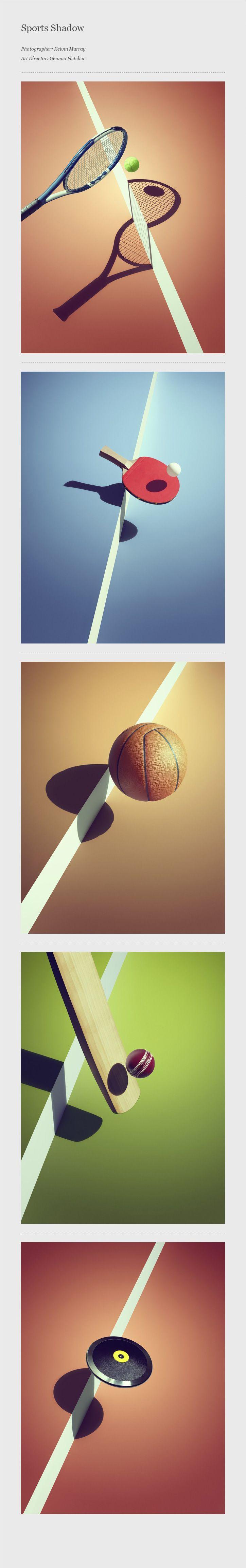 Sports Shadow by Gem Fletcher. #photography #sports | Pinned by DesignHandbook.net