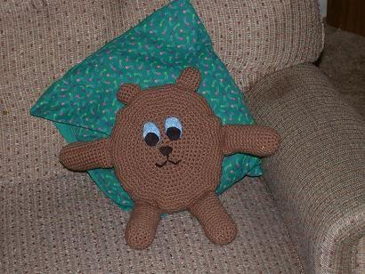 Courage Bear Crochet-amigurumi-toys Pinterest Bears ...