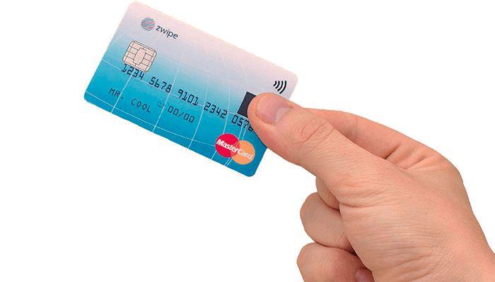 Fingersensor på MasterCard