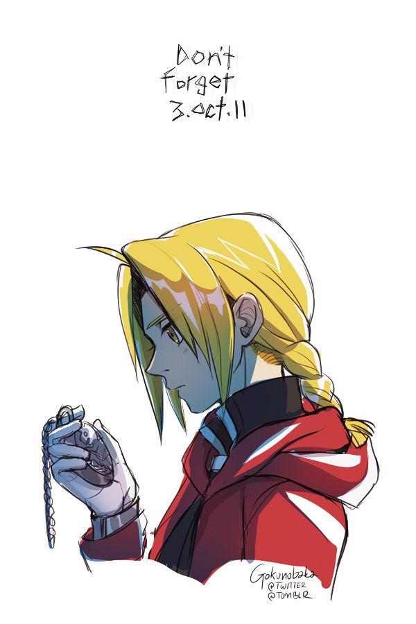Fullmetal Alchemist_ Don't forget 3.Oct.11