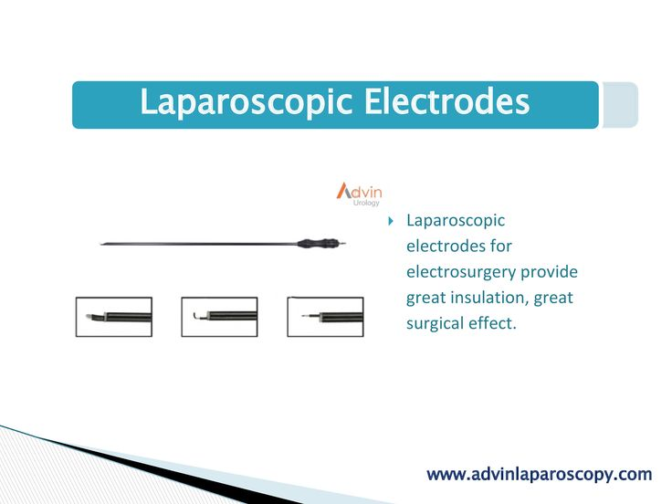Laparoscopic Electrodes  Laparoscopic electrodes for electrosurgery provide great insulation, great surgical effect