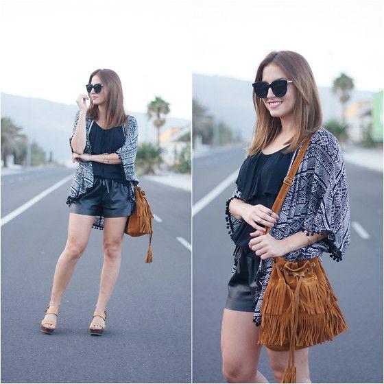 Get this look: http://lb.nu/look/8420797  More looks by Carolina González Toledo: http://lb.nu/carolinatoledo  Items in this look:  Monglam Sunglasses, Primark Kimono, Primark Heels   #chic