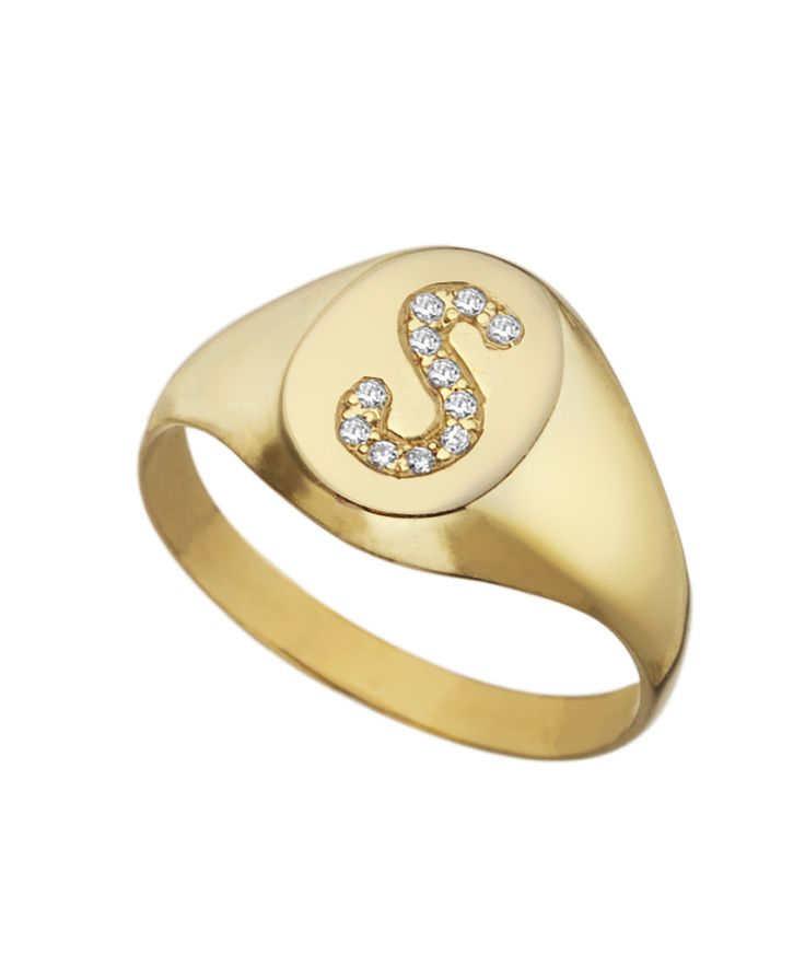 zoom il signature listing gold ring wedding monogram rings fullxfull personalized
