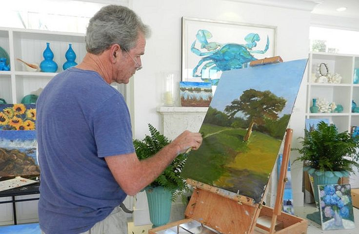 george w bush art | First, it was portraits of family pets (most notably his dog, Barney ...