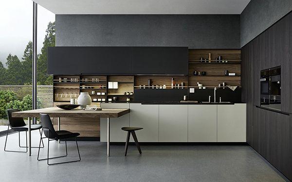 Streamlined Varenna Kitchen Designs for a Modern Contemporary Home | Home Design Lover