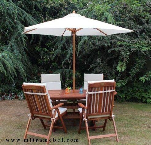 Set Meja Kursi Payung Putih Outdoor merupakan produk furniture yang kami tawarkan kepada anda yang mencari produk furniture kursi santai outdoor yang nyaman dipakai, berkualitas bagus dan harga bersahabat.
