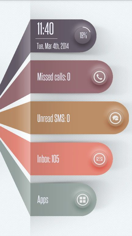 Yowww! How uber-cool is this design? Love the colors too. UI Design: