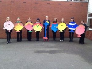 Mr Men and Little Miss WBD at Class 6M's Blog