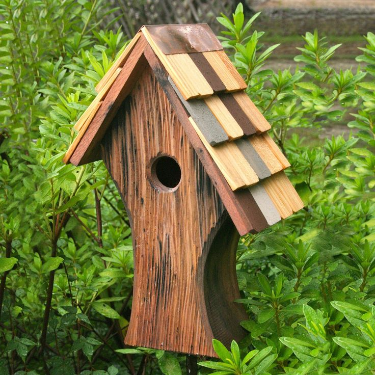 Heartwood 197A Nottingham Antique Cypress Bird House