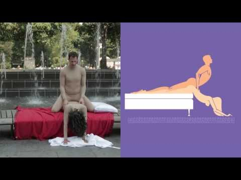 Sex positions shown by real people